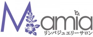 リンパジュエリーサロンMamia(マミア)福山市エステサロン ロゴ画像