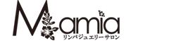 リンパジュエリーサロンMamia(マミア)福山市エステサロン 黒ロゴ小画像